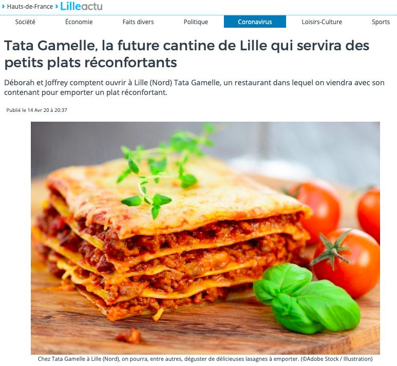 lasagne à la sauce tomate avec basilic viande hachée plat gourmand familial restaurant Lille idée repas